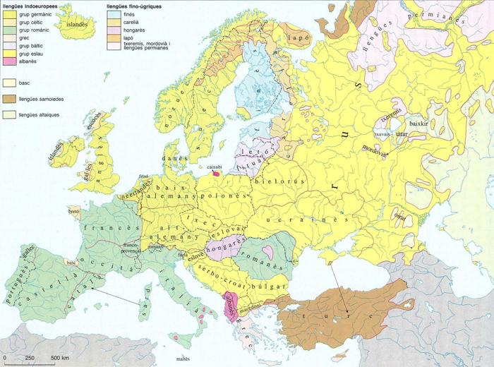 Mapa Fisic D Europa Rius.Europa Enciclopedia Cat