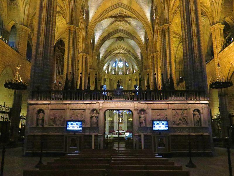 Cic moi for Interior de la catedral de barcelona