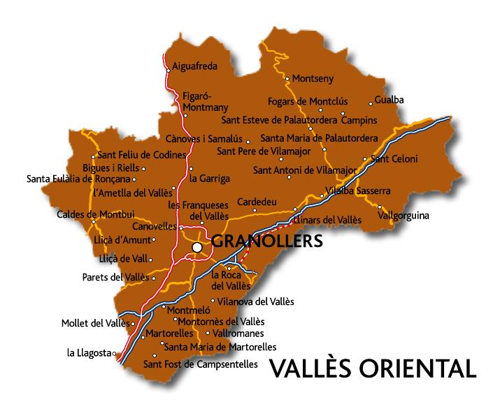 Comarca de catalunya a la regi de barcelona cap - Casas en el valles occidental ...